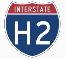 Interstate Sign H2, USA One Piece - Short Sleeve