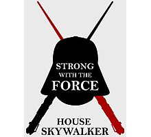 House Skywalker - Star Wars Photographic Print