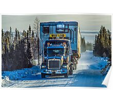 Ice Road Trucking Poster