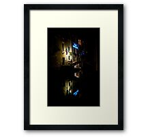 Venice by Night - Three Framed Print