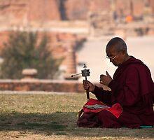 Monk of sarnath by Abhinandan Dutta