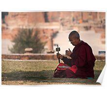 Monk of sarnath Poster