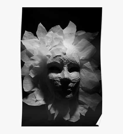 Paper Mask Poster