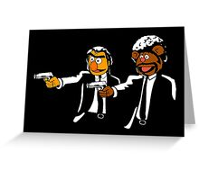 Muppets Pulp Fiction Greeting Card