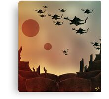 The Rocky Dragon Road Canvas Print