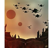 The Rocky Dragon Road Photographic Print