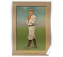 Benjamin K Edwards Collection Christy Mathewson New York Giants baseball card portrait Poster
