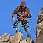 Joshua Tree - Rock Climber by Ellen Rosen Singer