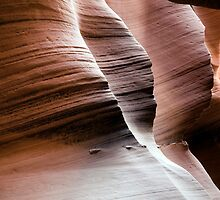 Antelope Canyon - Lower Canyon by Bryant Scannell