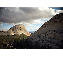 Northgate Peaks - Zion National Park Photographic Print