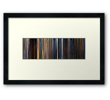 Moviebarcode: Out of Sight (1998) Framed Print