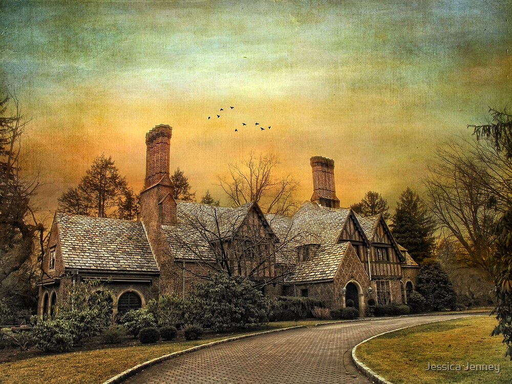 Tudor in Winter by Jessica Jenney