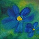 Blue Bloom by budrfli