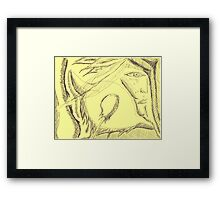 spirit within Framed Print