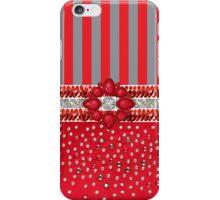 Faux Sequin Rhinestone Striped Iphone or Ipod case iPhone Case/Skin