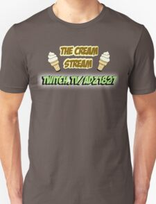 The Cream Stream Unisex T-Shirt
