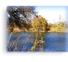Spring River, Northeast Oklahoma Canvas Print