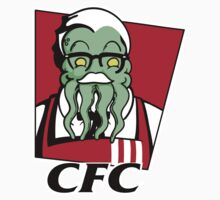 Cthulhu Fried Chicken One Piece - Long Sleeve