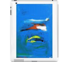 Contemplating Blue 2011 iPad Case/Skin
