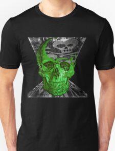 Green Skull - Funny Skull #2 T-shirt T-Shirt