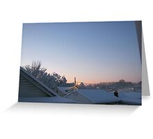 Feb. 19 2012 Snowstorm 70 Greeting Card