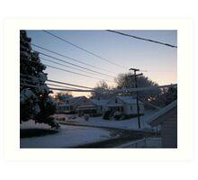 Feb. 19 2012 Snowstorm 71 Art Print