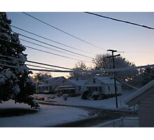 Feb. 19 2012 Snowstorm 71 Photographic Print