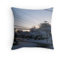Feb. 19 2012 Snowstorm 71 Throw Pillow