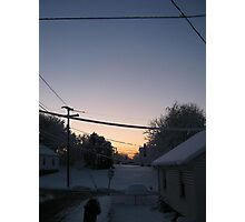 Feb. 19 2012 Snowstorm 72 Photographic Print