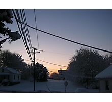 Feb. 19 2012 Snowstorm 73 Photographic Print