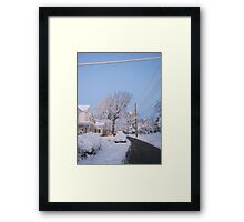 Feb. 19 2012 Snowstorm 80 Framed Print