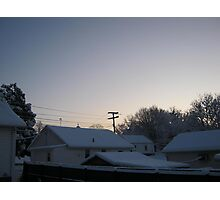 Feb. 19 2012 Snowstorm 94 Photographic Print