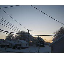 Feb. 19 2012 Snowstorm 97 Photographic Print