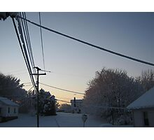 Feb. 19 2012 Snowstorm 100 Photographic Print