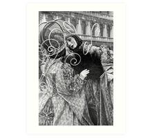 Carnival in Venice Art Print