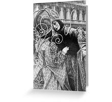 Carnival in Venice Greeting Card