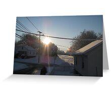 Feb. 19 2012 Snowstorm 107 Greeting Card