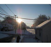Feb. 19 2012 Snowstorm 107 Photographic Print