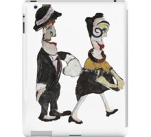 Theatre Going Puppet  Couple  iPad Case/Skin