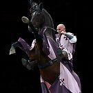Mounted knight by patjila