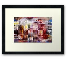 The sum of all parts Framed Print