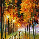 LIGHT OF AUTUMN - LEONID AFREMOV by Leonid  Afremov