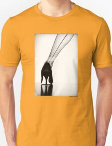 VNDERFIFTY STILETTO AND STOCKINGS T-Shirt