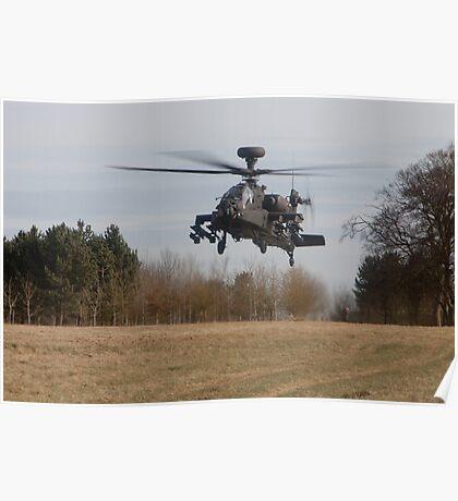 Apache Landing Poster