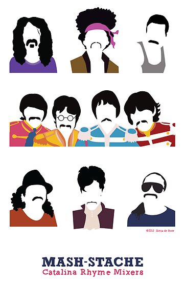Musicians with Moustaches by kriskraft