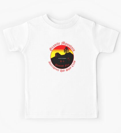 Prescott Granite Mountain Hotshots Memorial T-Shirt Kids Tee
