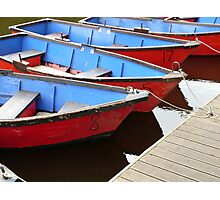 Row boats for hire Photographic Print