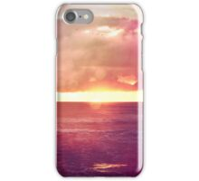 Calm Sunset iPhone Case/Skin