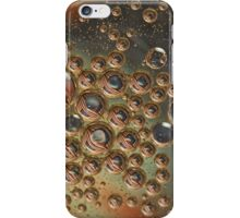 Stars and stripes in bubbles iPhone Case/Skin