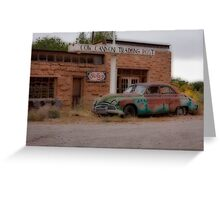 Cow Canyon Greeting Card